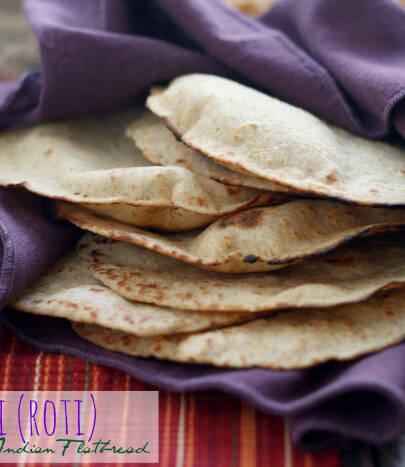 Čapatiji, Indijski kruhki brez kvasa